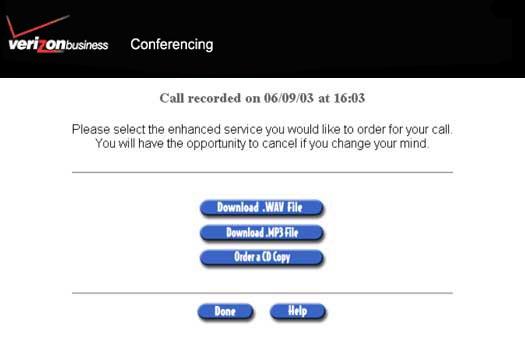 Verizon Conferencing - Audio, Web, and Video Conferencing